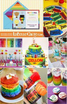 1000 images about fiesta crayola on pinterest - Ideas fiesta cumpleanos infantil ...