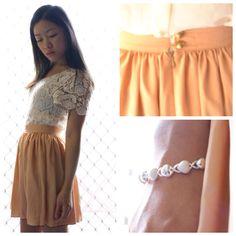 Top: La Petite Mademoiselle / Skirt: Her Pony [blog.lapetitemademoiselle.com.au] Love the skirt