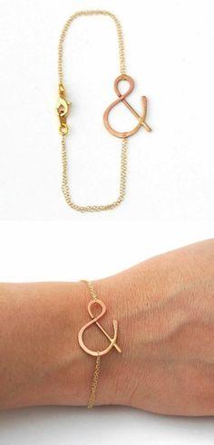 Ampersand Bracelet @College of William & Mary College of William & Mary