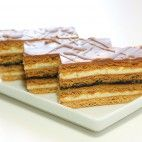 Medové rezy Slovak Recipes, Czech Recipes, Ethnic Recipes, Honey Cake, Christmas Baking, Sweet Recipes, Delish, Sweet Tooth, Food And Drink