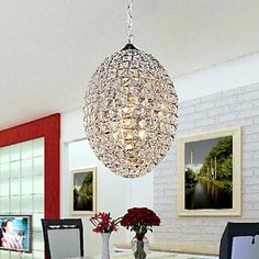230.56$  Buy here - http://aliohb.worldwells.pw/go.php?t=2020420704 - Pendente LED Crystal Pendant Light Lamp With 3 Lights For Living Room,Lustre De Cristal,Lustres e Pendentes Free Shipping