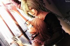 Amnesia - Ukyo and Heroine