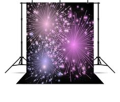 22.13$  Watch now - New Year Firework Backgrounds Vinyl cloth Computer printed christmas photo backdrop  #bestbuy