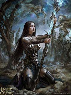 Legend of the Cryptids - Sceptermaker Kodorfitte by anotherwanderer