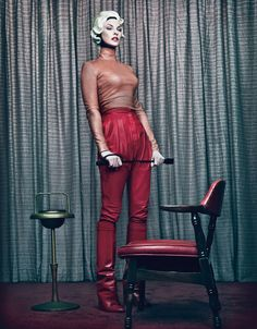 Bow down to Linda - photo by Steven Klein for W
