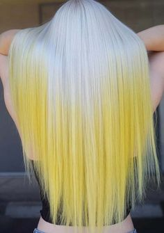 55 Unique Yellow Hair Colors for Long Straight Hair in 2018. Yellow is one of the most suitable hair color choice for ladies who have long and straight hair. You may also transform the colors of your long hair into yellow highlights for more cutest looks. As you can see here the most beautiful ideas of long straight and sleek hairstyles with yellow hair colors are looking so hot and sexy.