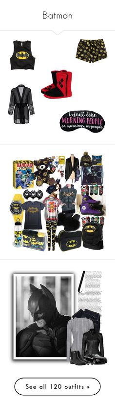 """Batman"" by marevarga ❤ liked on Polyvore featuring Concept One, Funko, Design History, Converse, DC Comics, WithChic, Junk Food Clothing, Polo Ralph Lauren, Proenza Schouler and Jitrois"
