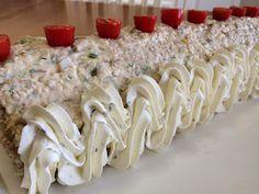 Liian hyvää: Voileipäkakkurulla tonnikalasta Krispie Treats, Rice Krispies, Desserts, Salad, Tailgate Desserts, Deserts, Postres, Dessert, Rice Krispie Treats