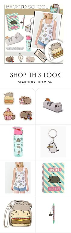 """""""#PVxPusheen"""" by melissa-de-souza ❤ liked on Polyvore featuring Pusheen, contestentry and PVxPusheen"""
