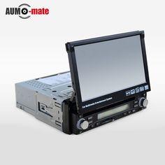 "7"" HD Touch Screen Car DVD Player Radio GPS Navigator 1 DIN Detachable Car Video Player"