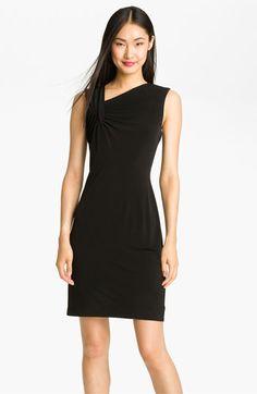 Calvin Klein Ruched Jersey Sheath Dress | Nordstrom
