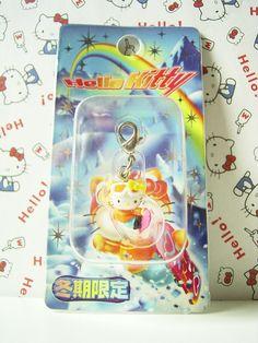 HELLO KITTY GOTOCHI Mascot Figure Charm Winter Season JAPAN Only Sanrio 2004 NEW 1.4cm 15.99