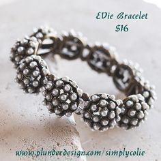 Evie Bracelet Plunder Design. Vintage Jewelry. Savvy Prices. www.plunderdesign.com/simplycolie Join me on Facebook- https://www.facebook.com/SimplyColie-Jewelry-Stylist-188548031659112 www.pinterest.com/coliejewelry