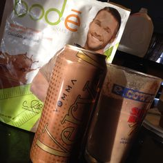 I call Verve Mojo and Chris Powell Choc Bodē shake CHRIS POJO!! Tastes like ice cream! 15 oz of coconut cream coffee and energy enhancing nutrients. Verve MoJoe! -Premium Arabica/Robusta coffee blend // Non-dairy coconut cream // 80mg of natural caffeine per serving. Treat yourself to a 1/2 pack of 12 Verve Mojoe cans for only $39.95 or 1 case of 24 cans for $79.95! Find Verve Mojoe here: http://juliancummings.vemma.com #healthy #bestenergy #verve #vemma #vervesace #mojoe #healthycoffee…