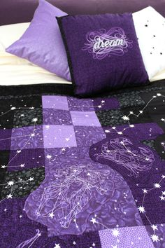 The Celestial Quilt - Sleeping Under the Stars