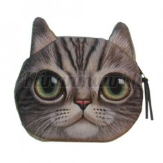 Cheap wallet wallet, Buy Quality cartoon cat directly from China zipper coin purse Suppliers: Cute Portable Cartoon Cats Dogs animal print Zipper Coin Purse Girls Bags New Small Zero Wallets Coin Bag, Coin Purse Wallet, Coin Purses, Pouch Bag, Animal Gato, Cute Cat Face, Bags Travel, Cat Purse, Head Shapes