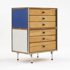 Charles and Ray Eames, #ESU 270-C Cabinet for Herman Miller, 1952.