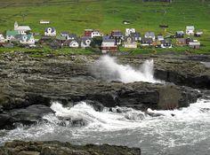 svínoy, faroe islands.