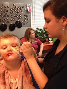 Special effects makeup, Gore Makeup, Bloody Makeup, Pro Soto Beauty Studios, Extended Education, Makeup Education