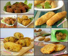 Le crocchette, una pagina dedicata alle amatissime crocchette, di patate, con zucchine, con funghi e tanto altro fritte o al forno