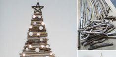 Vianočné stromčeky na stenu. Inšpirujte sa!