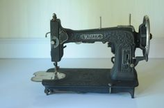 Antique White Rotary Sewing Machine Electric by PageScrappers, $69.99