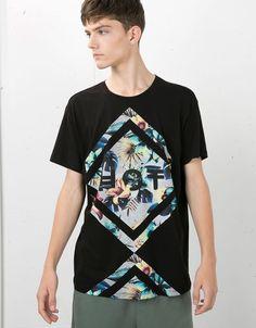 T-shirts - Man NEW COLLECTION - Man - Bershka United Kingdom