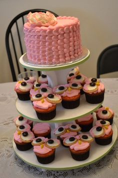 Owl themed birthday by jendardis on Cake Central