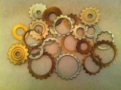Hey, I found this really awesome Etsy listing at https://www.etsy.com/listing/123586930/24-assorted-edible-steampunk-gears