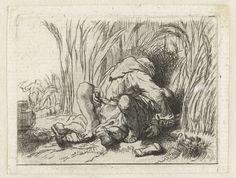 Het monnikje in het koren, Rembrandt Harmensz. van Rijn, 1750 - 1819