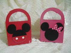 Karina Nebot: Cumpleaños Minnie Mouse: Invitaciones y dulceros
