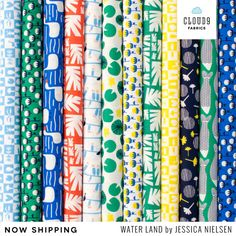 Water Land by Jessica Nielsen for Cloud9 Fabrics