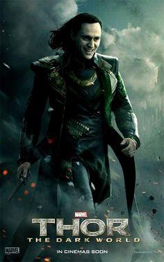 Loki Tom Hiddleston Thor The Dark World
