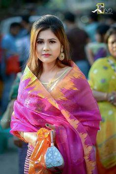 Girl in monipuri dress Beautiful People, Beautiful Women, Indian Celebrities, Western Outfits, Cute Woman, Indian Girls, Actress Photos, Modern Fashion, Beautiful Actresses
