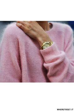 Pastel Pink Knits