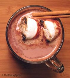 How to Make Hot Cocoa with Cacao Powder:35 Healthy Luxurious Holiday Drinks made with REAL Food