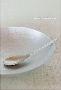 silver #dishes by yuki sakano