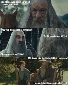 lord of the rings jokes:  Lol