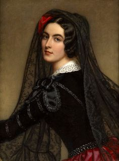 Joseph Karl Stieler, Lola Montez (c.1845) on ArtStack #joseph-karl-stieler #art