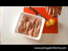 Coxinhas de frango com mel e limão - YouTube