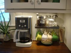 "Countertop Coffee Station from ""Create a Perfect Home Coffee Station"""