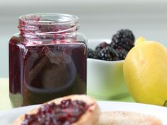 Blackberry Lemon Marmalade