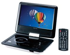 The #Craig portable DVD/CD player features a full 9-inch TFT swivel screen display and is DVD/CD/CD-R/JPEG compatible. Has built-in stereo speakers, built-in rec...