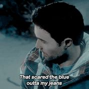 That scared the blue outta my jeans || Brett Dalton as Mike Munroe || Until Dawn || 177px × 177px || #animated #cast