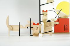 wooden magnetic toys for kids & adults. Inspired by Bauhaus, created by architects Bauhaus Colors, Magnetic Toys, Time In The World, Source Of Inspiration, Graphic Patterns, New Toys, Minimalist Design, Kids Toys, Bookends