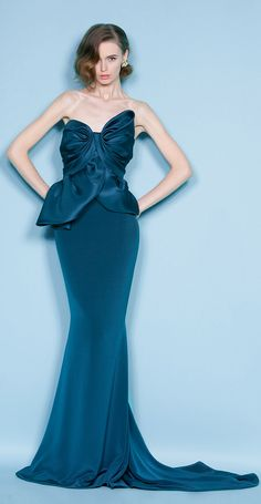 Marchesa. Ooh la la. This dress deserves a board of its own. Wow oh wow oh wow!