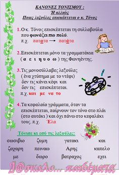 Δ@σκαλο…παιδέματα School Lessons, School Hacks, Lessons For Kids, School Ideas, Learn Greek, Greek Quotes, Greek Sayings, Greek Language, School Decorations