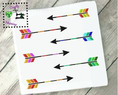 Arrow, Teal Blue Embroidery Design, Arrow Embellishment, Embroidery, Arrow Design, Fill Stitch, Colored Arrow, Tribal Arrow, Kids Embroidery by CraftyHooahMommy on Etsy