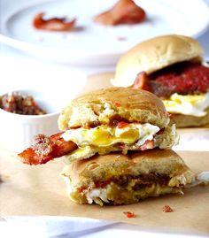 The Ultimate Bacon Butty Breakfast Sandwich