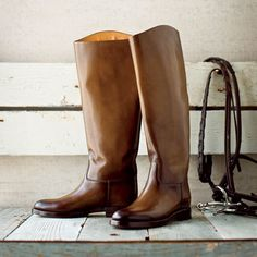 The 13 year-old hopeful equestrian in me is dying for these boots. Sadly the 31 year-old me is pretty in love with them too. If only it were in the cards for me to buy Gucci footwear...